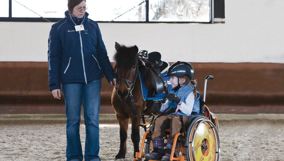 Laureus Projekt Kinder mit Pferden Stark machen