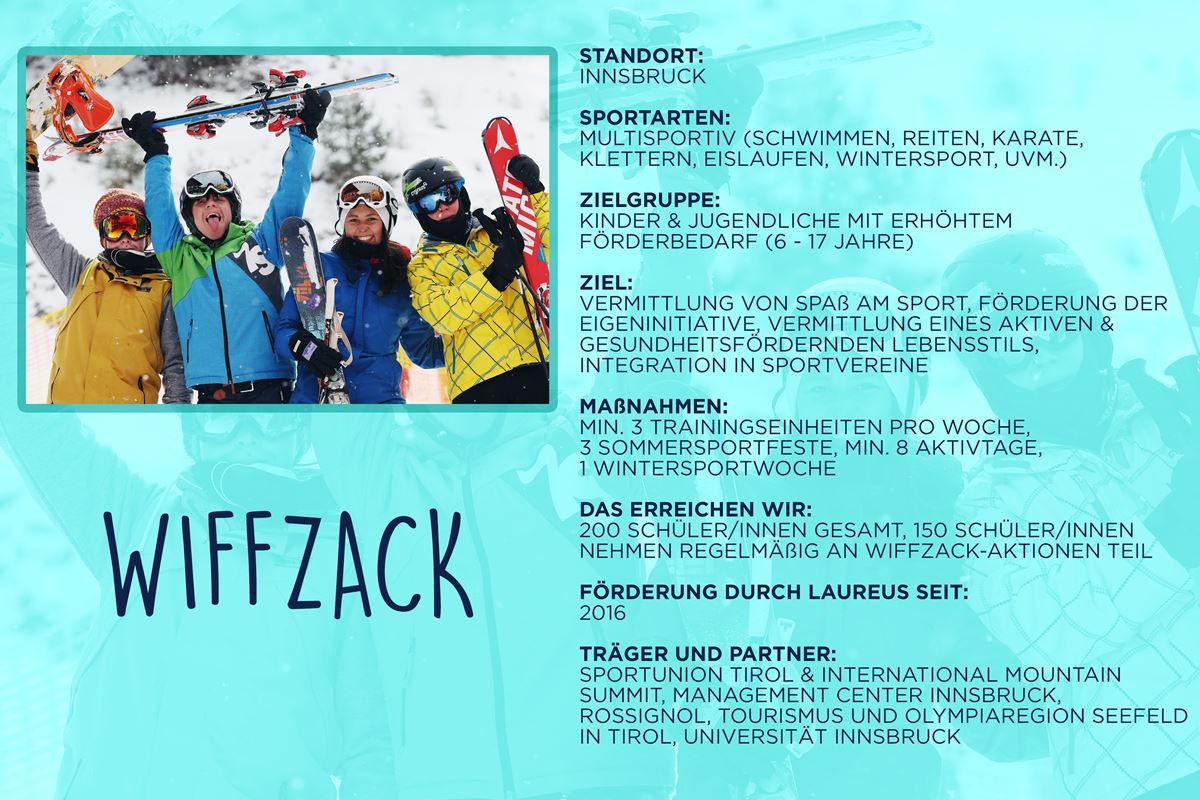 Laureus soziales Sportprojekt Innsbruck - Wiffzack