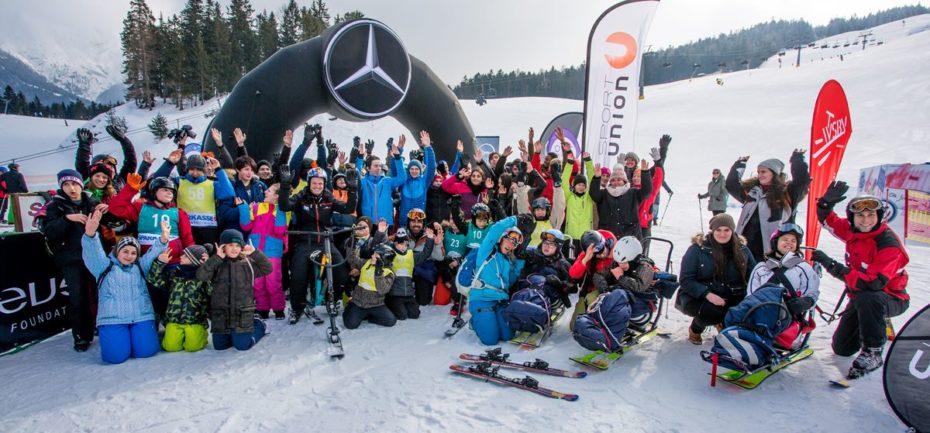 Laureus Sportstiftung - Schneetiger Wiffzack mit Thomas Morgenstern