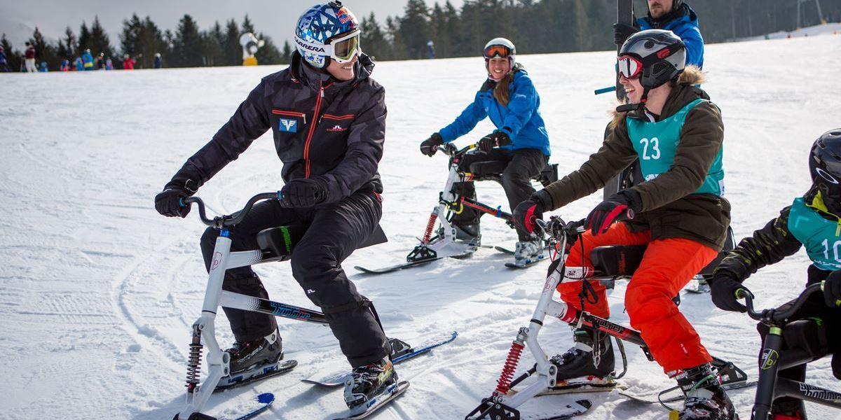 Soziales Sportprojekt - Schneetiger Wiffzack mit Thomas Morgenstern