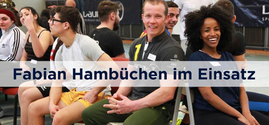 Fabian Hambüchen und Meri beim Training - Titel