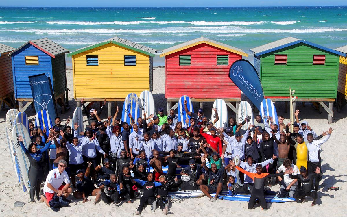 Laureus Sport for Good Global - Waves of Change Südafrika