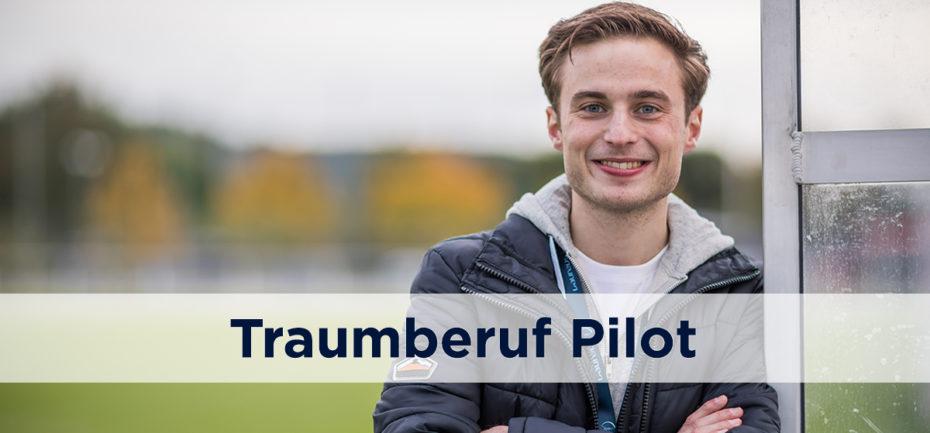 Traumberuf Pilot Marcel Laureus Förderprojekt KICKFORMORE