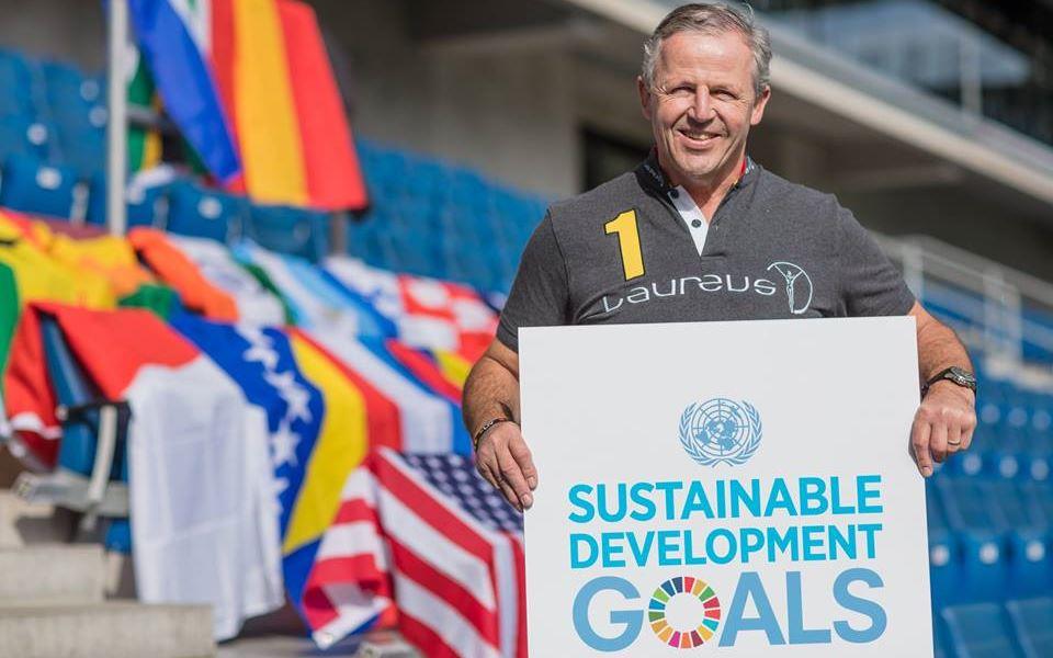 UN Sustainable Development Goals - Laureus Sean Fitzpatrick