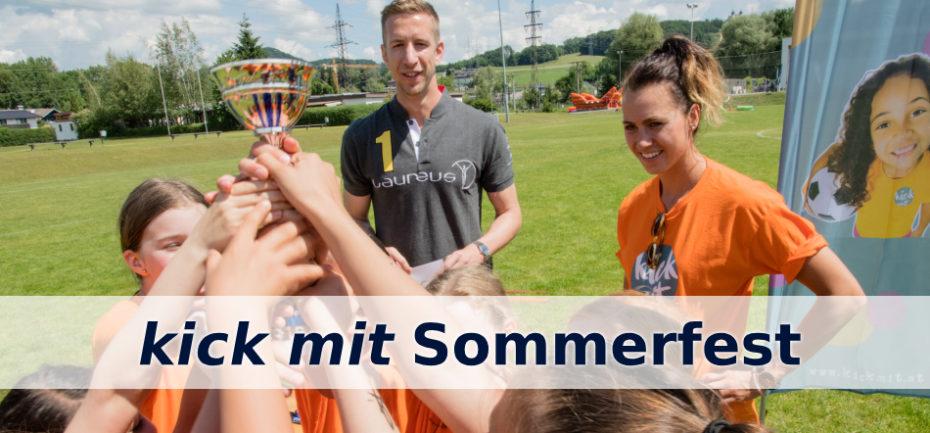 kick mit Sommerfest Marc Janko