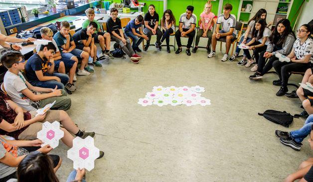 KICKFORMORE Gesamtschule am Berger Feld soziales Laureus