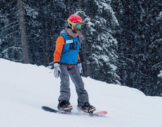 Snowboard Fahren Lernen HIGH FIVE Laureus